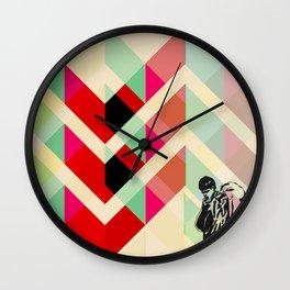Ian Curtis from Joy division Wall Clock