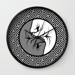 Way of the Fist Wall Clock