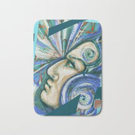 The power of your mind Bath Mat