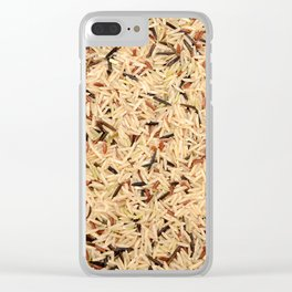 Wild rice Clear iPhone Case