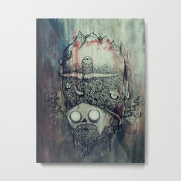 Seventh Head Metal Print
