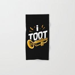 I Toot | Trumpets Hand & Bath Towel