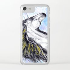 Horse2 Clear iPhone Case
