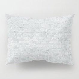 White Washed Brick Wall Stone Cladding Pillow Sham