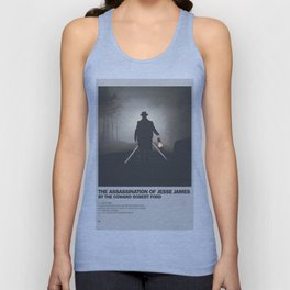 Assassination of Jesse James by the Coward Robert Ford Minimal Movie Poster No 01 Unisex Tank Top