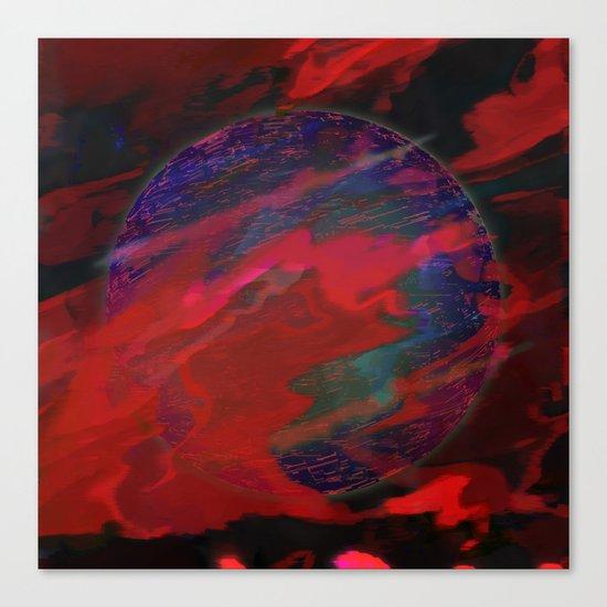 Atmospheric Disturbance - World 22-01-17 Canvas Print