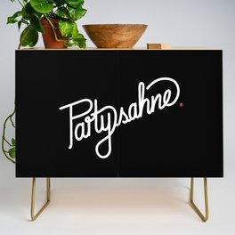 Partysahne   [black & white] Credenza