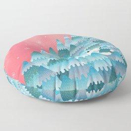 Tree Hugger Floor Pillow