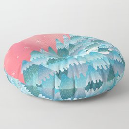 Tree Hugger Floor Pillow