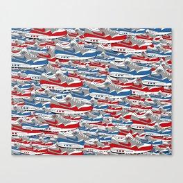 Air Max All Over Canvas Print