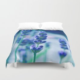 A Touch of blue - Lavender #1 Duvet Cover