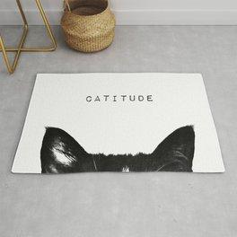 cat - catitude Rug