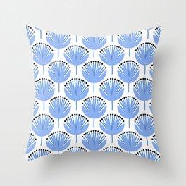 Spring Blues - Dandelion Throw Pillow