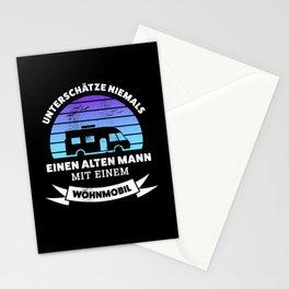 Mann mit Wohmobil | Lustiges Geschenk Stationery Cards