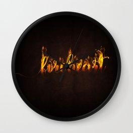 fireheart Wall Clock