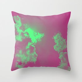 Radiant Clouds Throw Pillow
