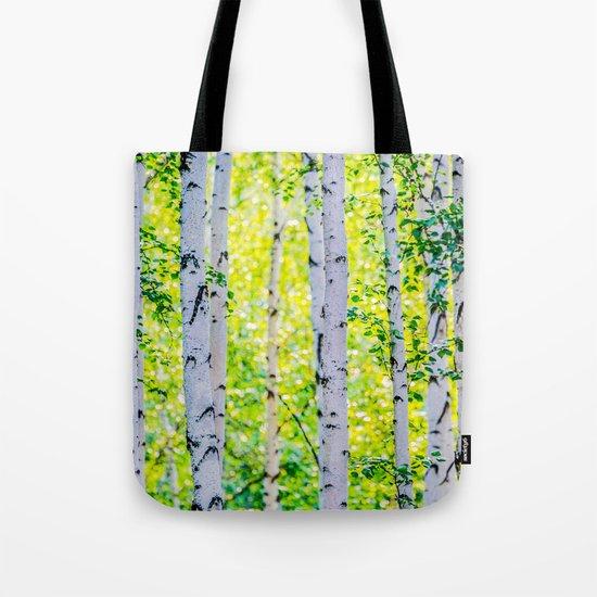 Birch Grove Tote Bag