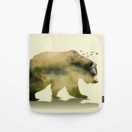 Unstoppable Bear Tote Bag