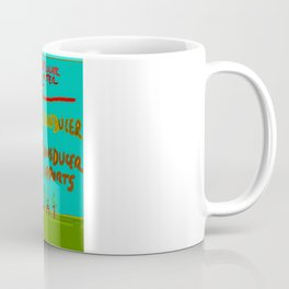 Particulate Matter Evacuation Portal Deluxe Coffee Mug