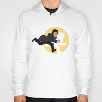 tintin Hoodies featuring Sherlock Adventures by jasesa