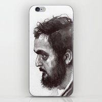 kubrick iPhone & iPod Skins featuring Stanley Kubrick by Laurent Samani