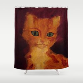 Mysticat Shower Curtain