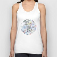girl power Tank Tops featuring Girl power by Dreamy Me