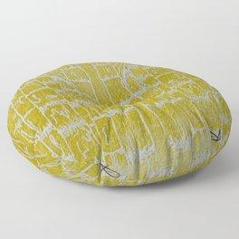 Yellow Sugarcane Floor Pillow