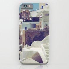 Streets of Santorini III Slim Case iPhone 6s