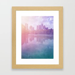 View From The South Framed Art Print
