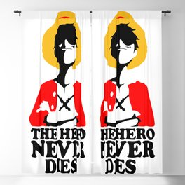 The Hero Never Dies Blackout Curtain