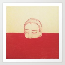 take a bath in my blood Art Print