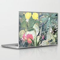 cacti Laptop & iPad Skins featuring CACTI by Beth Hoeckel