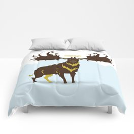 God's Zoo: Irish Elk Comforters