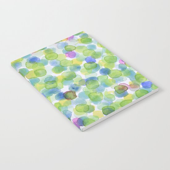 Dotted Summer Pattern Notebook