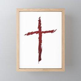 Rugged Cross Framed Mini Art Print