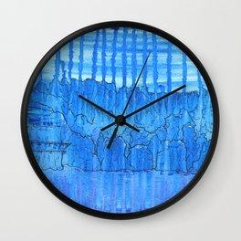 Glacial Cavern Wall Clock