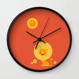 Who Loves the Sun Wall Clock