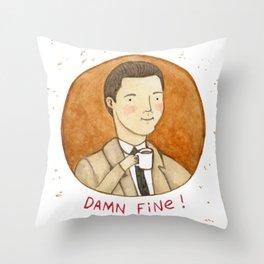 Damn Fine Throw Pillow