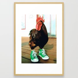 Rosie the Rooster Framed Art Print