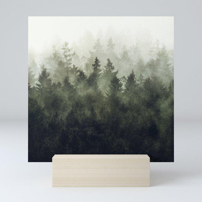 The Heart Of My Heart // Green Mountain Edit Mini Art Print
