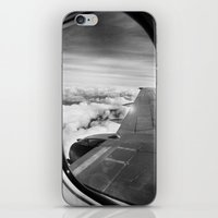 plane iPhone & iPod Skins featuring Plane by Laheff