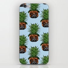 Pineapple Pug iPhone & iPod Skin