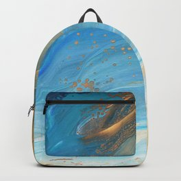 Fairy Wings: Acrylic Pour Painting Backpack