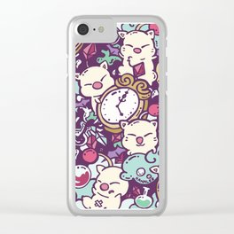 Moogle Madness Clear iPhone Case