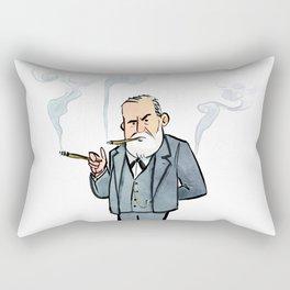 Sigmund Freud Rectangular Pillow