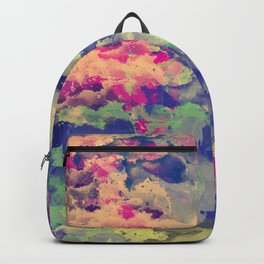 Abstract painting X 0.3 Backpack