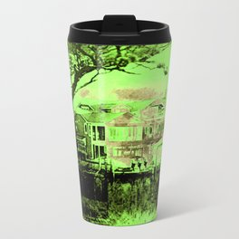 Green Spooky Boathouse Travel Mug