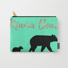 Mama Bear - Mint Carry-All Pouch