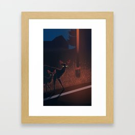 Nothing F**ks With My Baby Framed Art Print